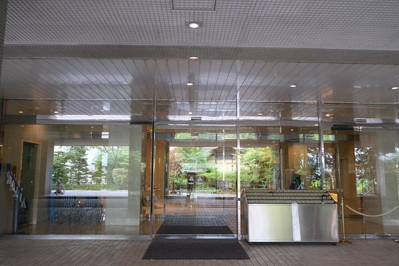 ベリーノホテルの正面玄関の写真