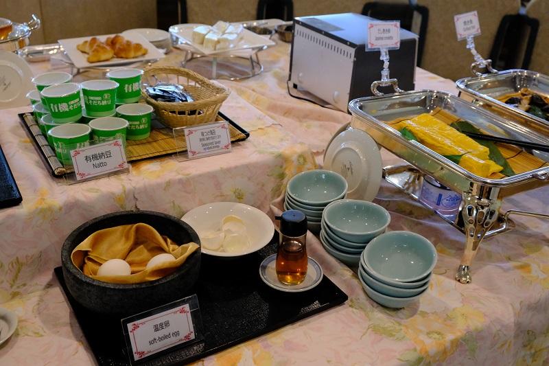 ベリーノホテル朝食バイキングの写真