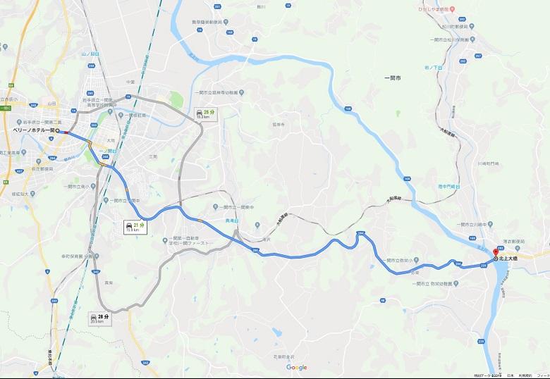 川崎町地図