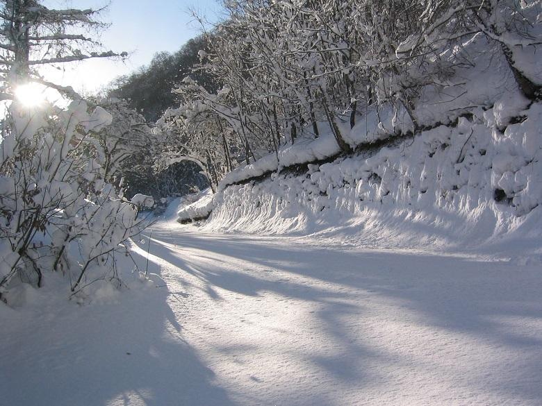 一関祭畤の冬8