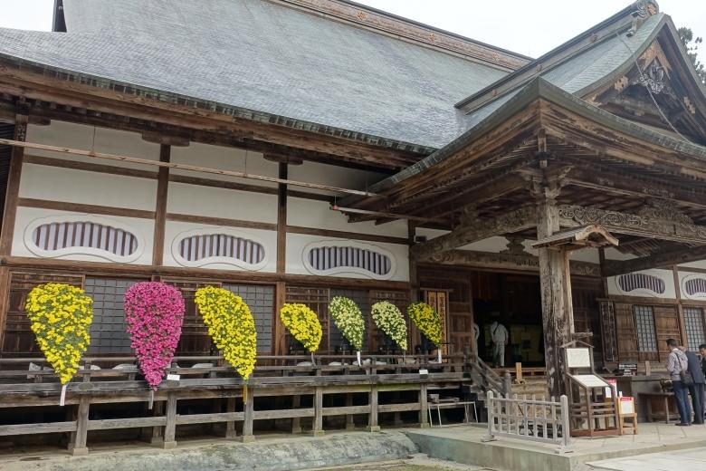 中尊寺菊本堂