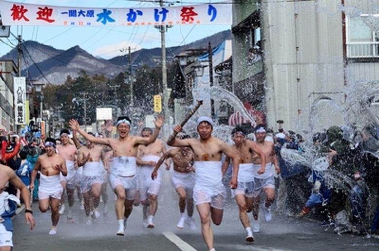 大原水かけ祭り